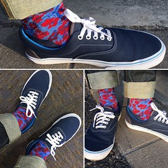 Today's Feet (Freddie Avalos) Tags: socks shoes clothes vans gustinjeans