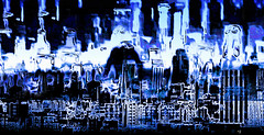 Ghost Town (Rob Goldstein -Thanks for your support) Tags: sanfrancisco california abstract color digital photoshop colorful foto digitalart surreal blogging dreamy colorgrading photoprocess lblogger artbyrobgoldstein