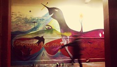 ( visión profunda ) (Felipe Smides) Tags: chile santiago mural liceo resistencia toma pintura barros estudiantes muralismo borgoño smides felipesmides manuelbarrosborgoño