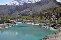 View of the Indus River at Skardu - Baltistan (Furqan LW) Tags: indusriver water mountain gilgit pakistan nature landscape inspiration
