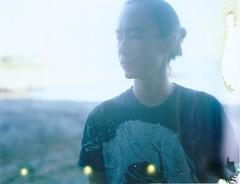 before sunset (marion (milky soldier)) Tags: portrait film k polaroid instant dirtyrollers polaroid600se fuji100c