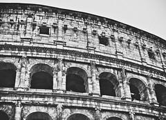 Coliseum (stefanonikon1) Tags: creativechallenge arch blackwhite nikon colosseo d7000 afs1755