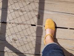 Walking across the bridge (EllenJo) Tags: pentaxqs1 pentax july27 2016 ellenjo ellenjoroberts