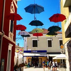 (Suite116) Tags: ombrelli istria novigrad croatia croazia hrvatska umbrella architecture