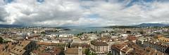 Genf-Panorama (SebastianBerlin) Tags: 2016 schweiz genf genve genfersee stpeter panorama geneva switzerland lakegeneva     laclman lacdegenve