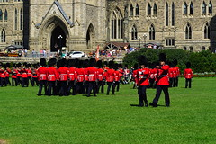 Changing Guard Ceremony (AncasterZ) Tags: ottawa parliamenthill guardchange canada
