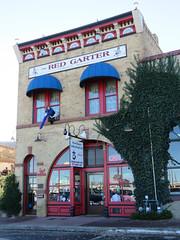 Former brothel (1 of 2) (jimsawthat) Tags: williams arizona smalltown brothel architecture hotel coffeeshop manequin