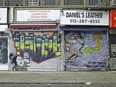 (Goggla) Tags: nyc new york lower east side les street art streetart graffiti gate mural