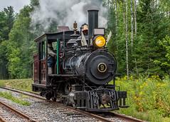 The sole surviving Portland Forney (kdmadore) Tags: wwf wiscassetwatervillefarmington wiscasset alna steamlocomotive railroad narrowgauge maine2foot wwfry train