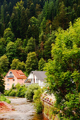 Schiltach (laura.foto) Tags: germany deutschland forest river houses blackforest nature woods schwarzwald landscape