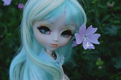 Pomme, Pullip Paja RS (>La cape d'invisiblite~) Tags: pullip paja rs poupe vinyle obitsu doll sae dolls eyes eyeships eyelashes flowers blue green dinosaur cute kawaii rainbow blonde adorable fork rilakkuma rement figurine japan pic personnes