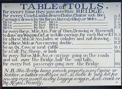 Table of Tolls......or the Royal Family. (amandabhslater) Tags: ironbridge shropshire 1779 riversevern gorge