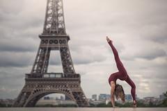 (dimitryroulland) Tags: nikon d600 85mm 18 dimitry roulland france paris urban street city eiffel tower natural light dance dancer gym gymnast gymnastics flexible people flexibility circus artist