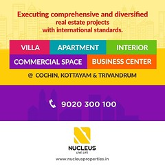 Kerala's most trusted builder offering value at every price point!  Visit us on www.nucleusproperties.in Call +91 9020 300 100  #Kerala #Kochi #India #Kottayam #Architecture #Home #Construction #City #Elegance #Trivandrum #Elegant #Bui (nucleusproperties) Tags: life beautiful kochi elegant style trivandrum kerala realestate kottayam lifestyle india luxury villa comfort apartment nature architecture interior gorgeous design elegance beauty building exquisite view city construction atmosphere home living