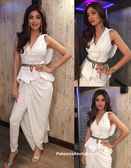Shilpa Shetty in Peplum Jacket and Drape Trousers for Women (shaf_prince) Tags: actressinwhitedresses bollywoodactress bollywooddesignerdresses celebritydresses designerwear drapetrousers drapedpants indianfashiondesigners peplumjacket peplumtop shilpashetty teenfashion
