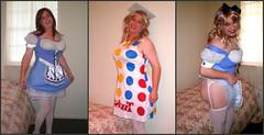 Collage11 (MaryAnn Ginger) Tags: halloween costume cosplay cd crossdress crossplay tranny tgirl tran sexy