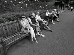 Focus of interest ... (vmanseventy) Tags: robertbmcneill tripuk scotland edinburghstreetphotography edinburghinternationalfestival scottishstreetphotography peoplephotos nikon ricohgrd1v lefteyed 50mmlens streetcandid blackandwhite filmphotography decisivemoment edinburghcastle princesstreet royalmile stgiles highstreet mound moundsquare eastprincesstreetgardens sirwalterscottmonument nationalgalleryofscotland rsa ramsaygarden waverley rosestreet playfairsteps westprincesstreetgardens georgeivbridge nikonf65 nikonfm fujix100s ricohgr panasoniclumixgm11232mmlens olympusbodycaplens panasonic20mm17ii fujixpro1 fuji18mmf2lens fuji27mmlens kodakportra160400 agfaisoletteiiisolinar45lens