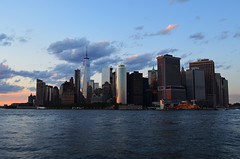 NYC_NYHRC_cruise_50 (chiang_benjamin) Tags: nyc cruise river boat yacht sunset newyorkcity ny newyork downtown manhattan skyline skyscrapers