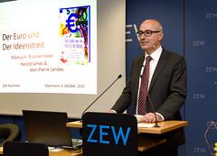 The Euro and the Battle of Ideas (ZEW Mannheim) Tags: zewpräsident zew president wambach