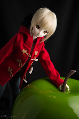 SaberApple001 (EZFPhotography) Tags: doll bjd dollfie dollfiedream saber fatestaynight fatestay balljointdoll