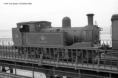 20/06/1963 - Ryde Pier, Isle of Wight. (53A Models) Tags: britishrailways adams lswr southernrailway o2 044t w29 alverstone steam passenger rydepier isleofwight train railway locomotive railroad