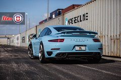 Porsche 991 Turbo S on HRE P106 (wheels_boutique) Tags: turbo porsche 991 hre turbos hrewheels p106 wheelsboutique teamwb wheelsboutiquecom 991tt keenanwarner darkbrushedsatin