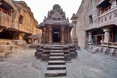 India - Maharashtra - Ellora Caves - Cave 32 - 27 (asienman) Tags: india maharashtra elloracaves asienmanphotography