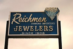 Reichman Jewelers (Cragin Spring) Tags: usa sign vintage illinois midwest neon unitedstates diamond il suburb neonsign oldsign vintagesign oaklawn jewelers reichman oaklawnil oaklawnillinois reichmanjewelers