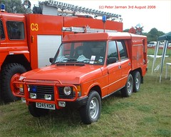 E245 KGM (Peter Jarman 43119) Tags: fire rally rover 2008 range carmichael odiham e245kgm