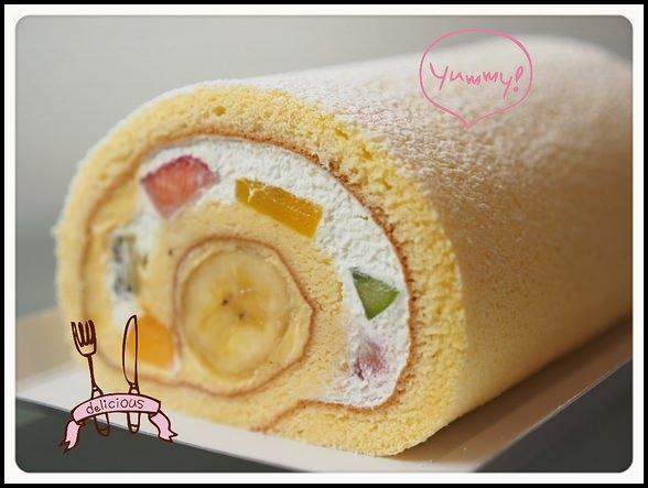 日本 東京 ▎キハチトライフルロール 水果蛋糕捲 @ patisserie KIHACHI。上班族票選第一名 @ ▌Meiko 愛敗家。甜點。旅行~▌ :: 痞客邦