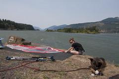 Hood River 2014 (shawna j) Tags: windsurfing mounthood hoodriver