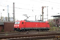 DB BR 185 der DB (Vitalis Fotopage) Tags: rail db r ag bahn deutsche 185 bombardier traxx schenker