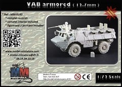 VAB armor (IBD) with 12.7mm (CB-127 turret) (Model-Miniature / Military-Photo-Report) Tags: scale de gun with vab armor 20mm now 13 turret available 172 ibd t20 vhicule 127mm lavant blind modelminiature t2013 httpwwwmodelminiaturecomproductphpidprovab turretduct419 cb127