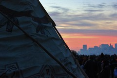 Alcatraz#8 (Art-is-true) Tags: ocean thanksgiving light shadow sea sun white black america sunrise bay landscapes san francisco native ceremony american area alcatraz