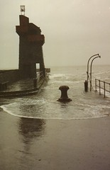 march 1990 Lynmouth Flood (Exmoor National Park) Tags: sea heritage history landscape ian coast countryside waves flood harbour north coastal devon pile coastline storms 1990 lynmouth lynton exmoornationalpark