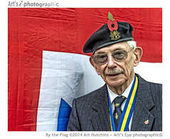By the Flag (Art's Eye photographic) Tags: portrait soldier westsussex unitedkingdom veteran rememberanceday serviceman rollofhonour storrington poppyday royalbritishlegion