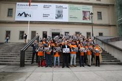 12.11.2014 Protesta ante el Museo Reina Sofa (HazteOir.org) Tags: ho ml violencia exposicin libertadreligiosa odio reinasofa hazteoirorg maslibresorg antirreligiosa