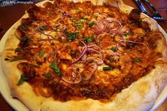 BBQ Chicken Pizza at Yaletown Brewing (deeeelish) Tags: chicken bbq pizza