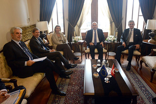 Visit of Mogherini, Hahn and Stylianides to Turkey