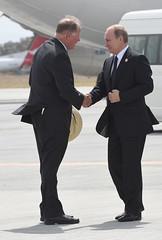 Russias President Vladimir Putin departes Brisbane (G20 Australia) Tags: australia brisbane queensland aus