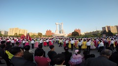 Mass Dance (multituba) Tags: dance northkorea pyongyang dprk gopro massdance