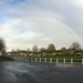 Rainbow over Church Green, Witney