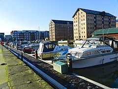 GLOUCESTER DOCKS   39 (conespider) Tags: uk winter england docks boats ships gloucestershire gloucester 2014