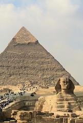 Giza pyramids and Sphinx 4 (spicfly) Tags: africa building sphinx triangle pyramid head tomb lion egypt cairo human pharaoh monolith giza wonderoftheworld ancientworld