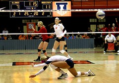 Ohio State kill (RPahre) Tags: universityofillinois ohiostateuniversity theohiostateuniversity volleyball bigten b1g huff huffhall champaign kill andreakacsits lizmcmahon juliaconard illinois robertpahrephotography copyrighted donotusewithoutwrittenpermission