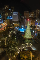Christmas in San Francisco (Allan Hack) Tags: sanfrancisco christmas unionsquare 2014
