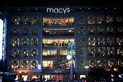 San Francisco's Union Square Macy's Great Tree Lighting