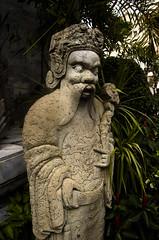 Side-Eye Statue (symbot) Tags: statue stone thailand temple pentax bangkok figurine wat phrakaew k01 sideeye