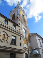 Riga: St. Mary Magdalene's Church (zug55) Tags: church kirche latvia unescoworldheritagesite unesco worldheritagesite riga lettland rga latvija welterbe unescowelterbe baznca livland stmarymagdaleneschurch klosteraiela svtsmarijasmagdalnasromaskatoubaznca