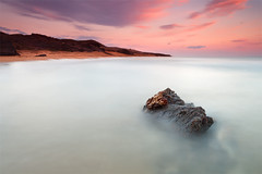 Paceful Calblanque (DavidFrutos) Tags: longexposure sunset sea costa naturaleza seascape color colour beach nature water rock clouds landscape atardecer coast mar agua rocks waves fineart wave playa paisaje murcia filter le lee nubes nd canondslr cartagena olas roca rocas ola waterscape filtro largaexposicin filtros calblanque gnd neutraldensity canon1740mm gnd8 graduatedneutraldensity densidadneutra davidfrutos 5dmarkii hitechreversegnd06 singhraygnd09
